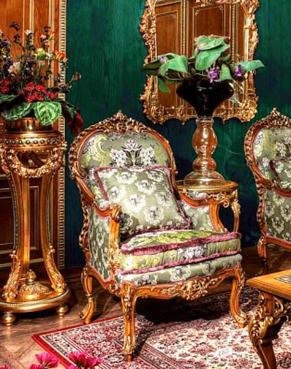 Кресло ASNAGHI INTERIORS IT1601 New classic collection