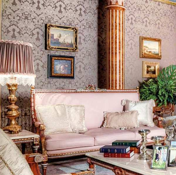 Диван ASNAGHI INTERIORS IT5108 New classic collection
