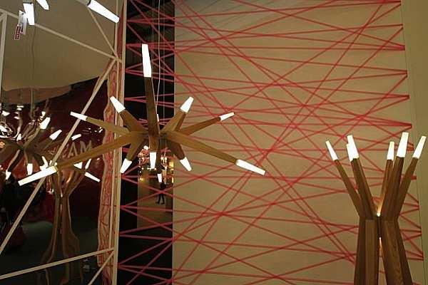 Напольная лампа MASIERO (EMME PI LIGHT) FLASHWOOD STL 6 + 6