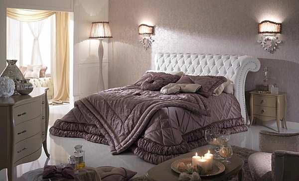 Кровать PIERMARIA etoile con borchie Night collection