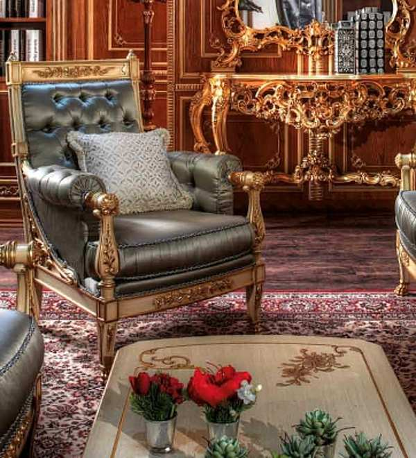 Кресло ASNAGHI INTERIORS IT1501 New classic collection