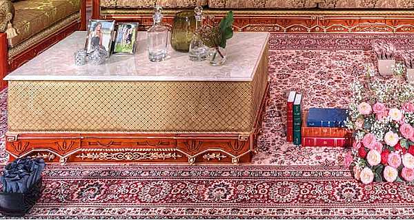 Стол журнальный ASNAGHI INTERIORS IT4404 New classic collection