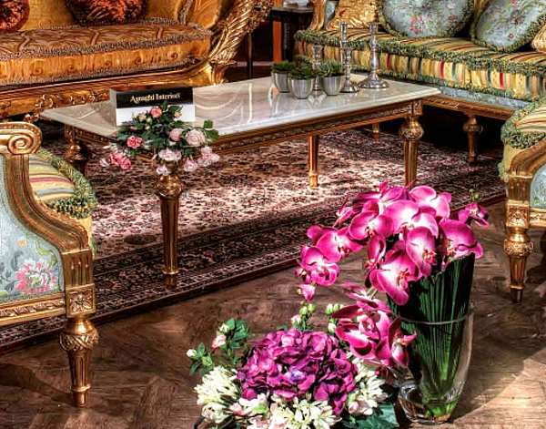 Стол журнальный ASNAGHI INTERIORS IT3704 New classic collection