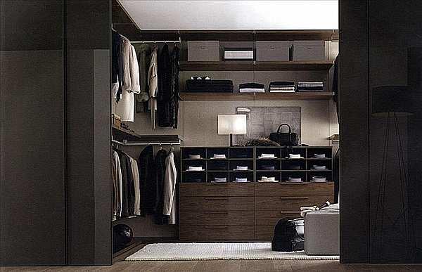 Гардеробная JESSE SPA Walk-in-closet-6 Plurimo sistema armadi