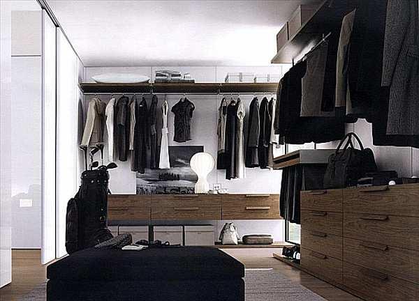 Гардеробная JESSE SPA Walk-in-closet-5 Plurimo sistema armadi