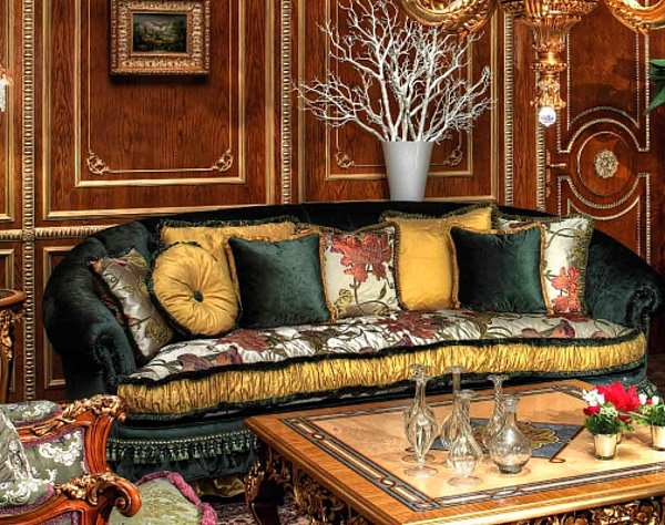 Диван ASNAGHI INTERIORS IT3203 New classic collection