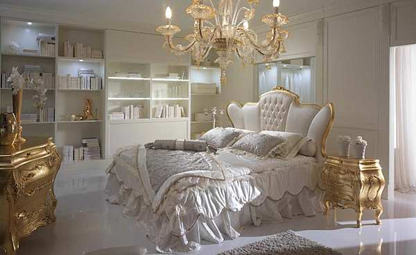 Кровать PIERMARIA bedopera capitoneè centrale Night collection