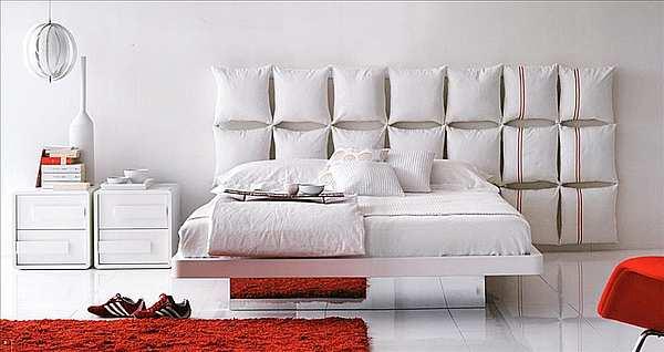 Кровать OLIVIERI Pixel LE370 - N + CS370