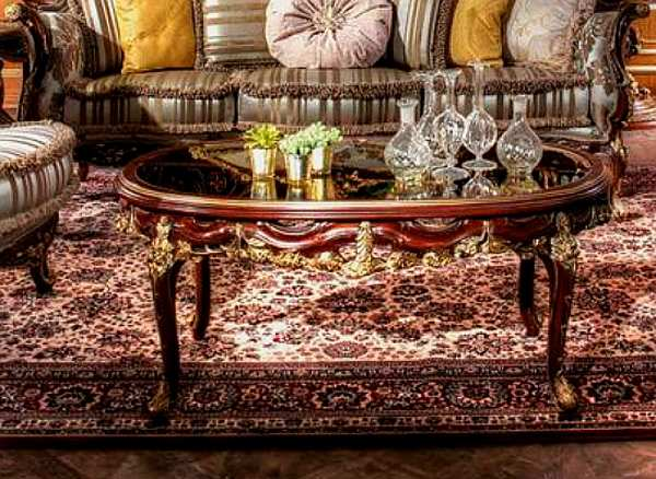 Стол журнальный ASNAGHI INTERIORS IT2004 New classic collection