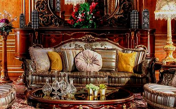 Диван ASNAGHI INTERIORS IT2003 New classic collection