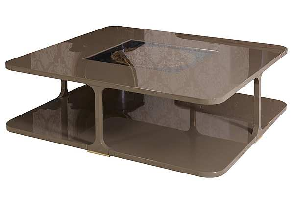 Стол журнальный PATINA LC/CF 103 SQ 15- LE CADRE COFFE TABLE