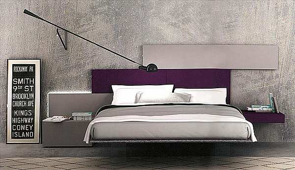 Кровать PIANCA WTTF37S  Sketchbook Spazio Night