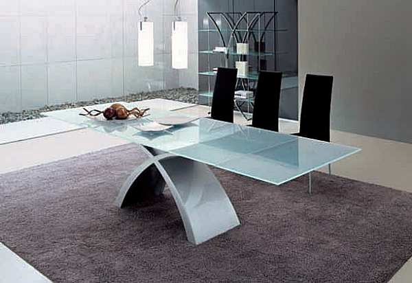 Стол TONIN CASA TOKYO - 6951FSV_glass