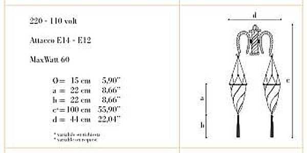 Бра ARCHEO VENICE DESIGN 402-02