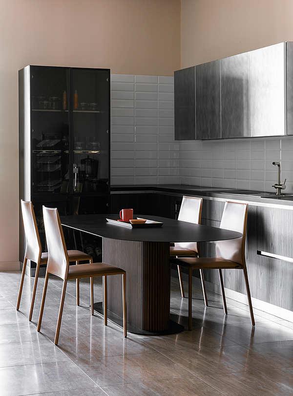 Кухонный гарнитур STYLE, фабрики DOIMO CUCINE, с техникой и столешницей