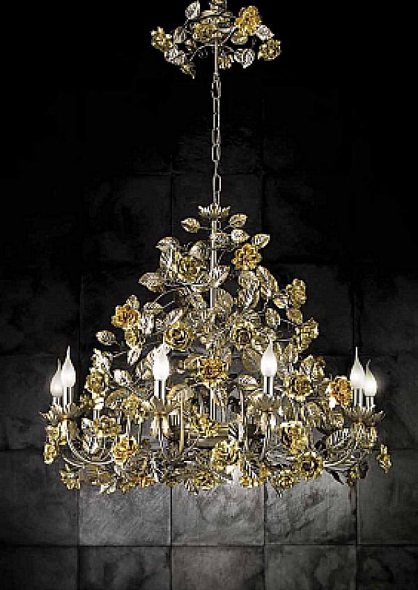 Люстра VILLARI 4400409-914 GOLD & Nickel