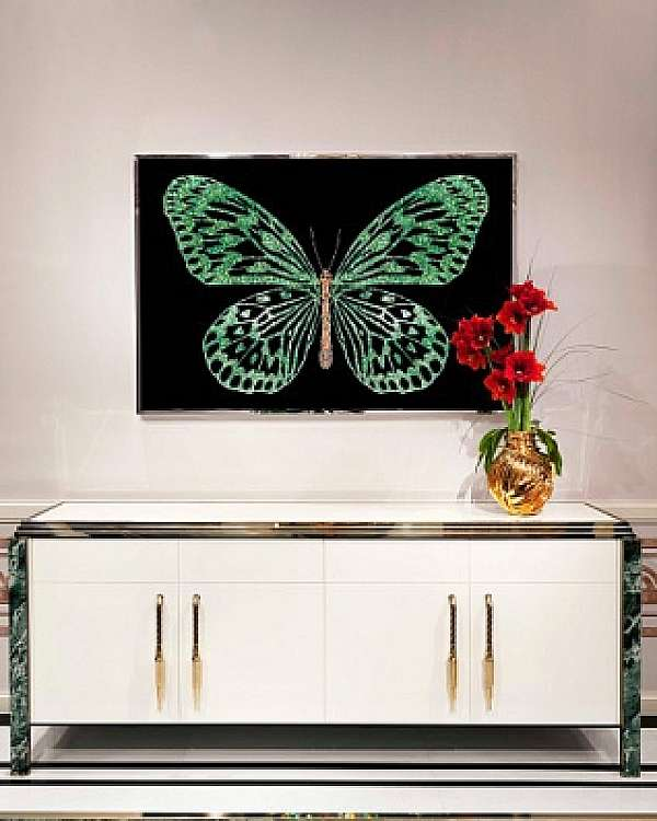 Панно, картина VISIONNAIRE (IPE CAVALLI) Green Butterfly