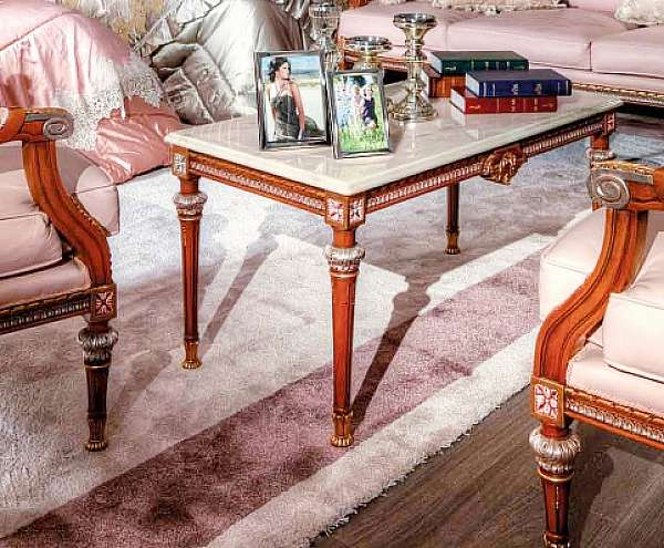 Стол журнальный ASNAGHI INTERIORS IT5109 New classic collection