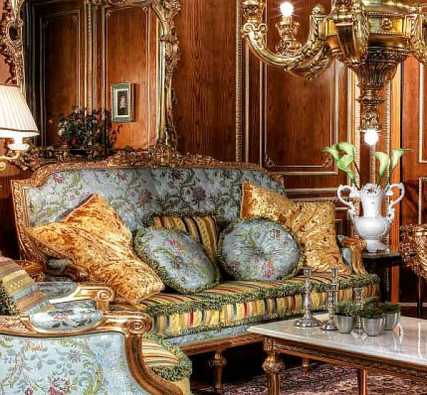 Диван ASNAGHI INTERIORS IT3703 New classic collection