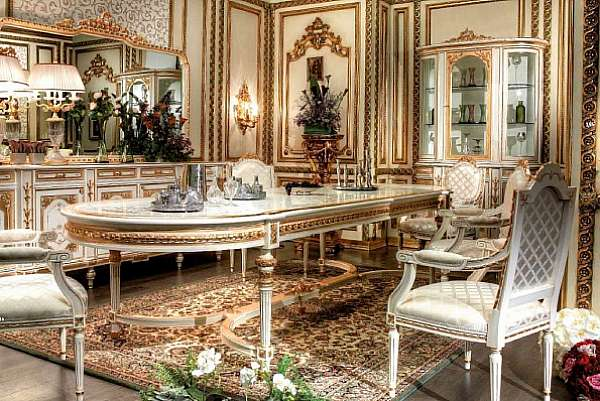 Стол ASNAGHI INTERIORS IT3601 New classic collection