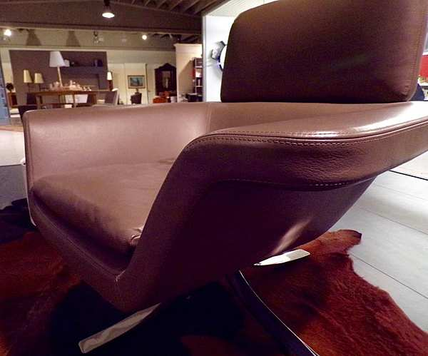 Кресло Poltrona con pouf Minotti Blake