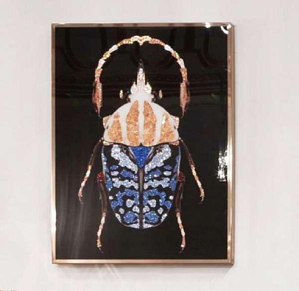 Панно, картина VISIONNAIRE (IPE CAVALLI) COLEOTTERO Salone del Mobile Milano