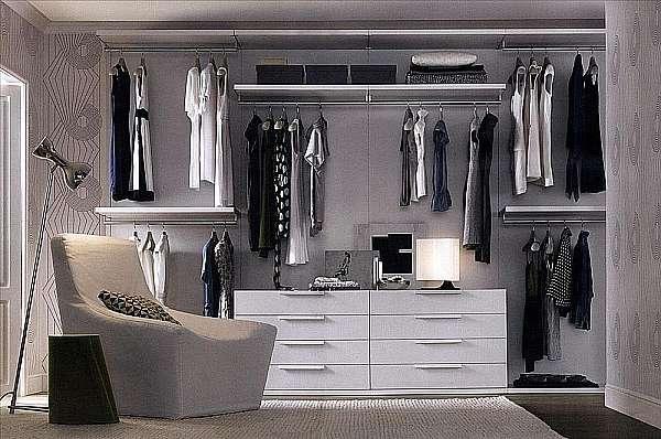 Гардеробная JESSE SPA Walk-in-closet-3 Plurimo sistema armadi