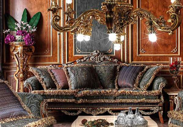 Диван ASNAGHI INTERIORS IT2303 New classic collection
