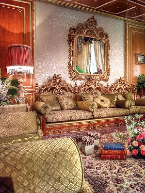 Диван ASNAGHI INTERIORS IT4401 New classic collection