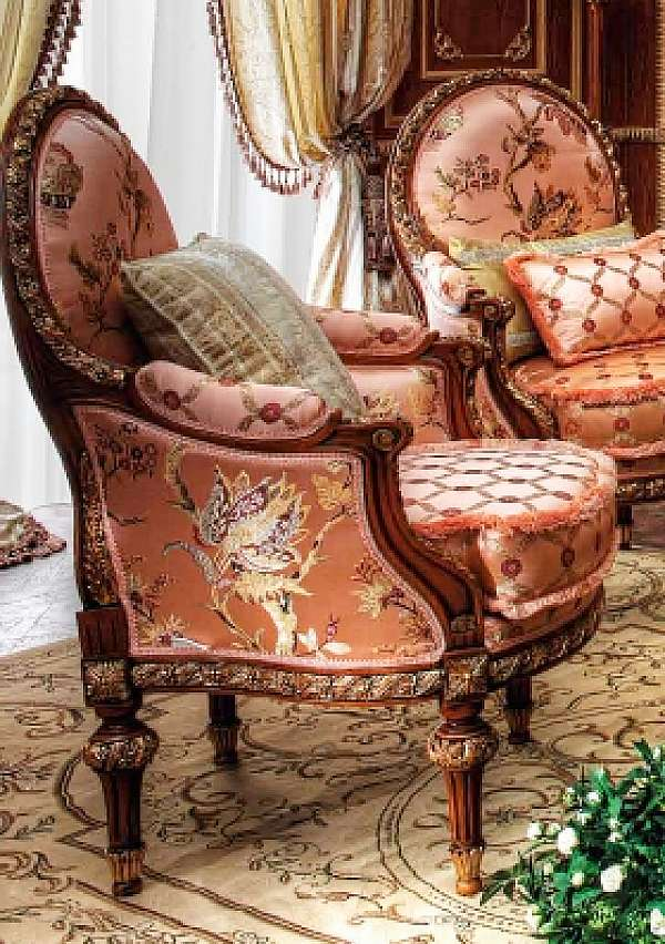 Кресло ASNAGHI INTERIORS IT2507 New classic collection