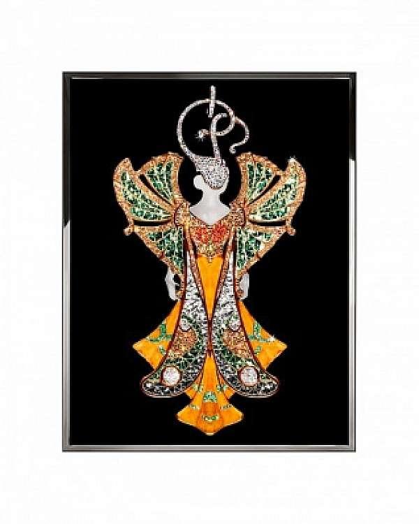 Панно, картина VISIONNAIRE (IPE CAVALLI) Winged Woman Salone del Mobile Milano
