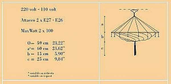 Люстра ARCHEO VENICE DESIGN 301-00