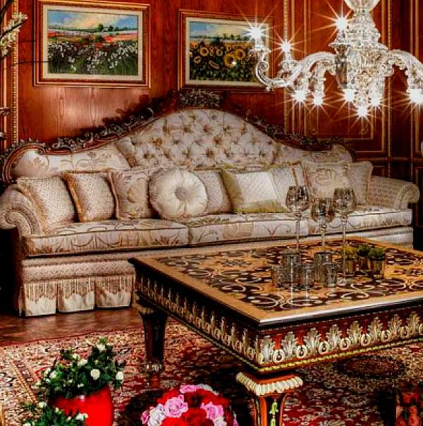 Диван ASNAGHI INTERIORS IT1110 New classic collection