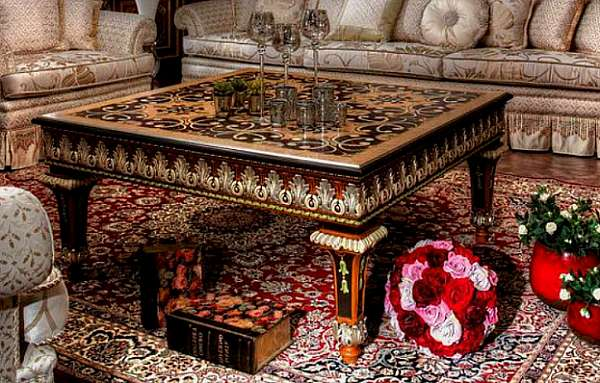 Стол журнальный ASNAGHI INTERIORS IT1111 New classic collection