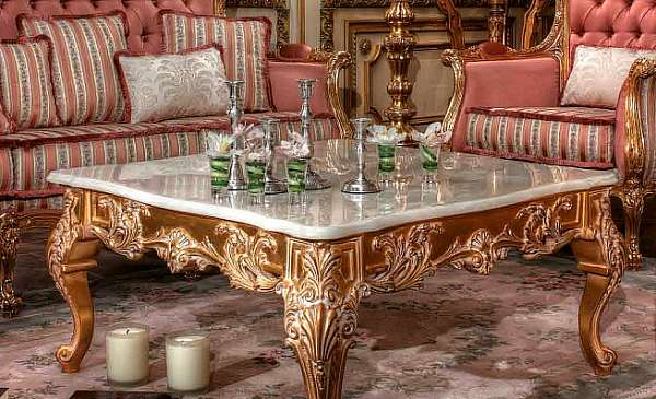 Стол журнальный ASNAGHI INTERIORS IT3904 New classic collection