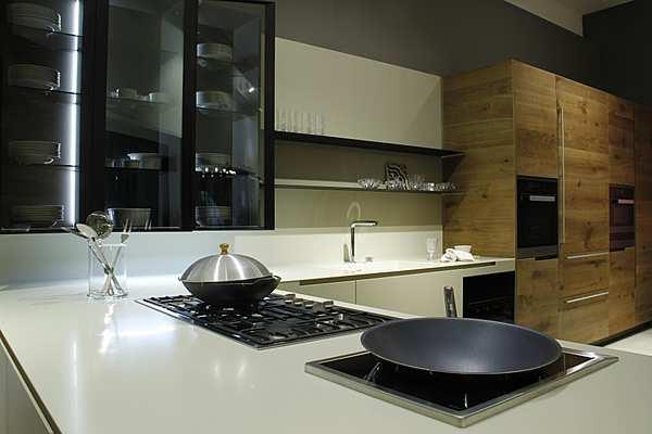 Кухня Varenna Phoenix laccato goffrato