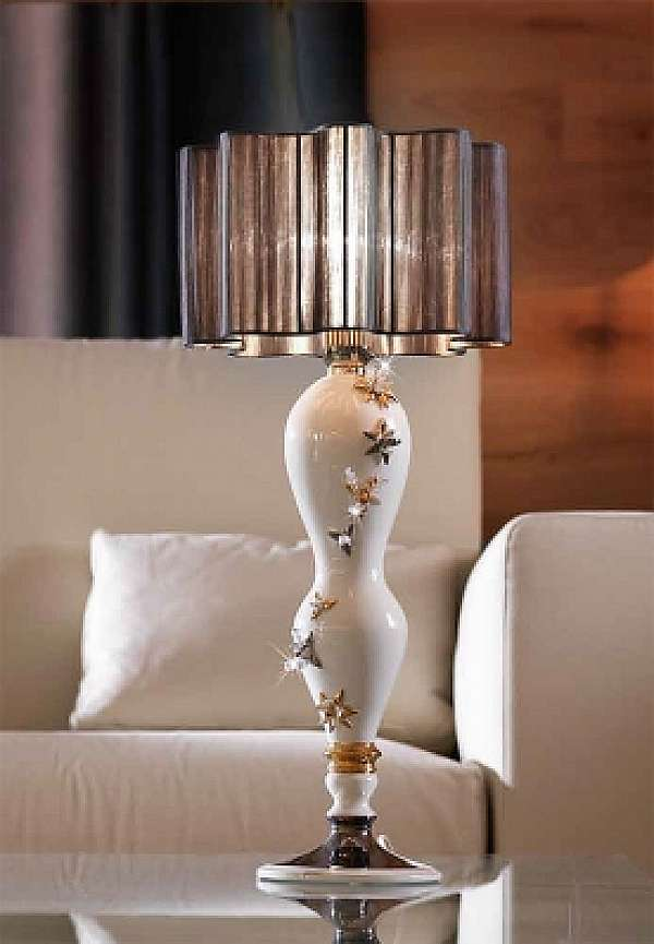 Настольная лампа LORENZON (F.LLI LORENZON) L.892/1/SW/BOPL ARTE E CERAMICA