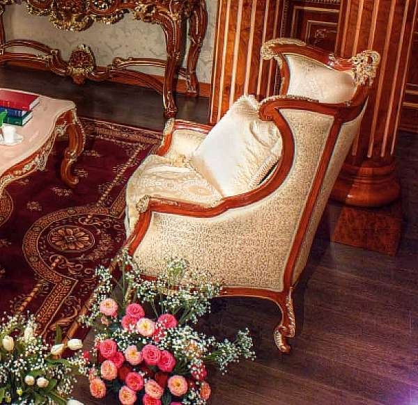 Кресло ASNAGHI INTERIORS IT4601 New classic collection