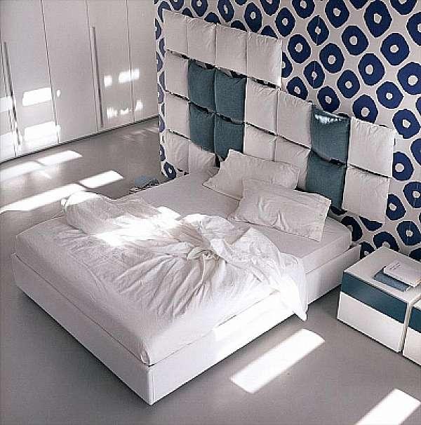 Кровать OLIVIERI Pixel LE470 - N + CS370 Night Collection