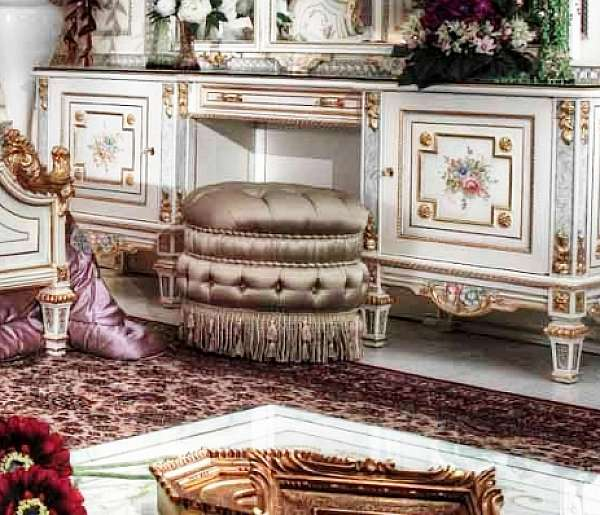 Пуф ASNAGHI INTERIORS T3306 New classic collection