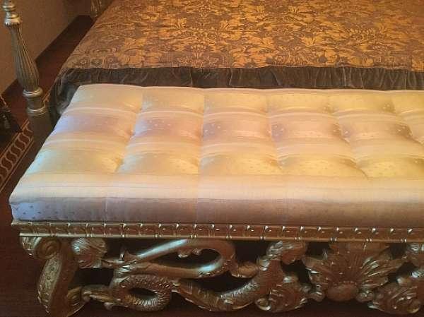 Кровать ROMEO art.5027/K в комплекте с тумбами и банкеткой