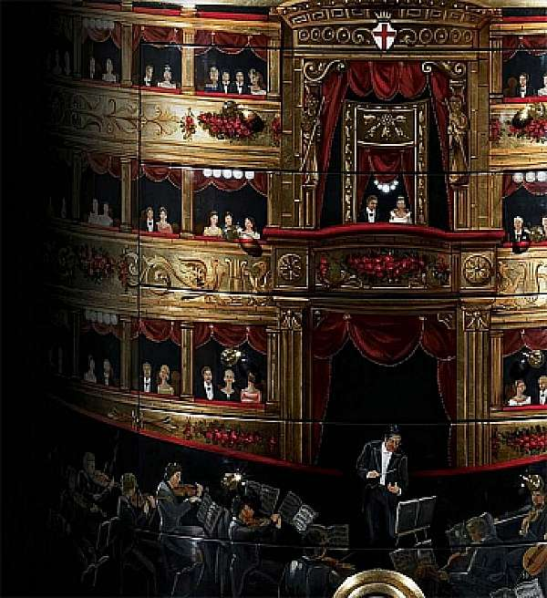 Комод ALCHYMIA La Scala