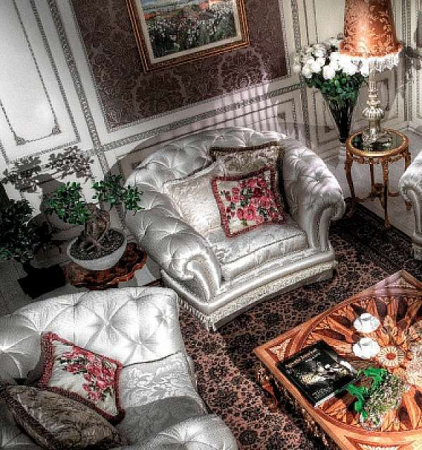 Кресло ASNAGHI INTERIORS IT2801 New classic collection