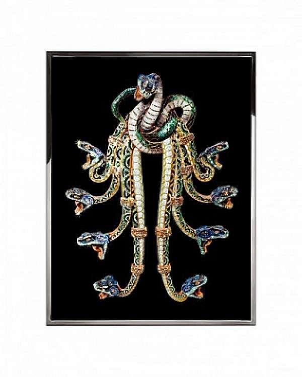 Панно, картина VISIONNAIRE (IPE CAVALLI) HYDRA Salone del Mobile Milano