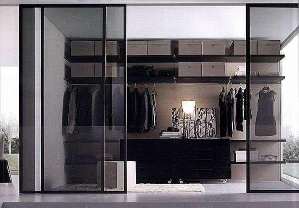 Гардеробная JESSE SPA Walk-in-closet-4 Plurimo sistema armadi