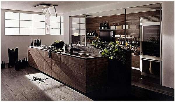Кухня VALCUCINE Artematica Noce Tattile-2