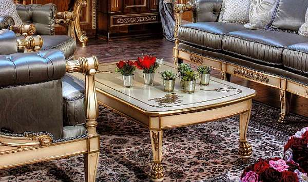 Стол журнальный ASNAGHI INTERIORS IT1504 New classic collection